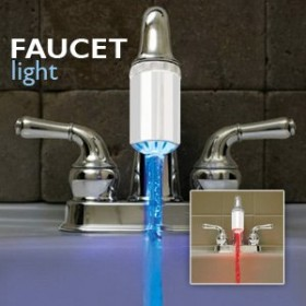 Temperature Controlled Water Faucet Light