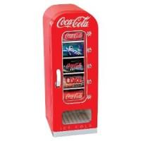 Coca Cola 10-Can Retro Fridge