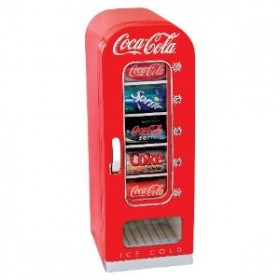 Coca Cola 10-Can Retro Fridge