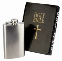 Holy Bible Beer Flask