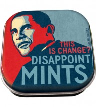 Obama Disappoint-Mints