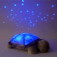Twilight Turtle Stars Constellation Lamp