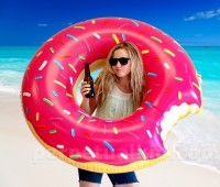 Giant Donut Inner Tube