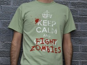 Fight Zombies T-Shirt