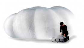 Inflatable Cloud Room