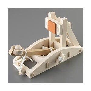 Wooden Desktop Catapults