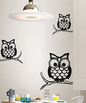 Owl Decals Owl Wall Decals
