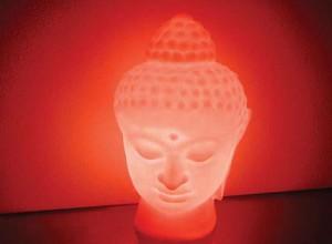 buddah lamp