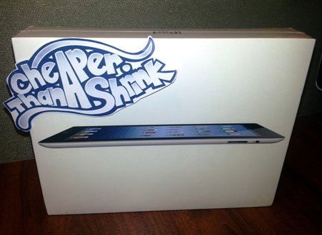 Cheaper Than A Shrink iPad Giveaway