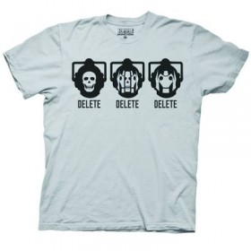 Doctor Who Delete T-Shirt