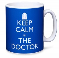 Doctor Who Keep Calm Mug