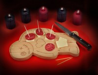 Voodoo Cutting Board Knife Set