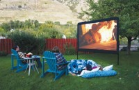 Portable Outdoor Movie Theater Screen