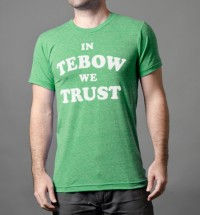 In Tebow We Trust T-Shirt