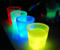 Glow In The Dark Shot Glass Set