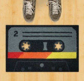 Retro Cassette Tape Doormat