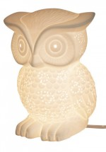 Glowing Owl Lamp