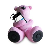 Teddy Bear MP3 Stereo Speakers