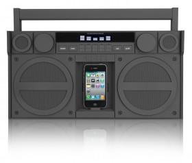 iHome Speaker Dock Boombox