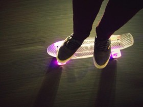 LED Skateboard Cruiser
