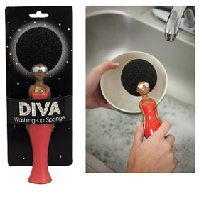 Diva Afro Kitchen Sponge