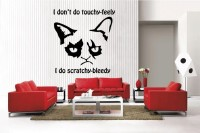 Tard The Grouchy Cat Vinyl Wall Decal