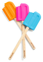 Colorful Popsicle Spatulas