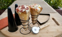 Grilled Pizza Cone