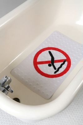 No Diving Bath Mat