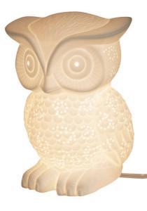 Glowing Owl Lamp
