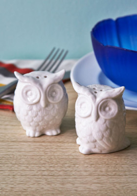 Hoots Hungry Shaker Set