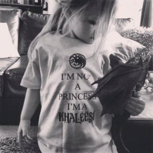 Khalessi Graphic T-Shirt