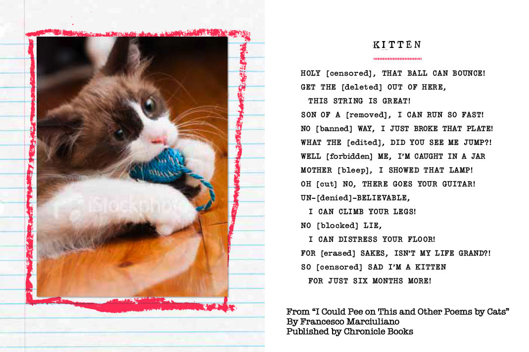 Poems about cats and kittens