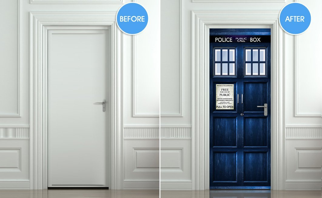 Doctor Who Police Box Decal Doctor Who Police Box Decal