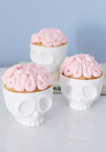Baking on the Brain Cupcake Molds