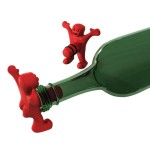 Happy Man Novelty Bottle Stopper
