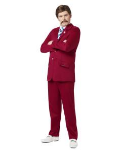 Ron Burgundy Costume