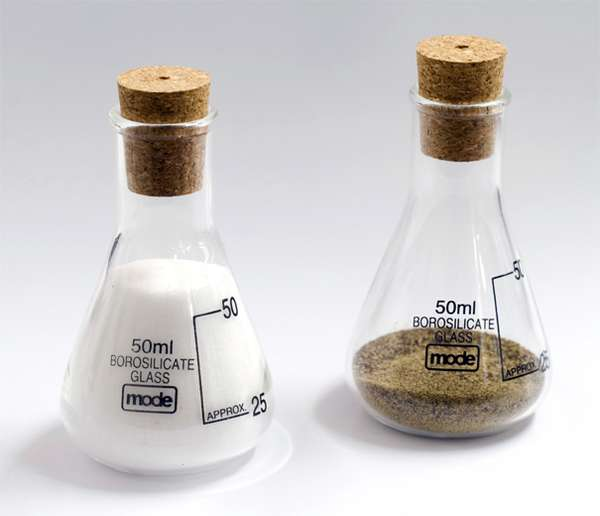 Cheaper than a shrink - Chemistry salt and pepper shakers ...