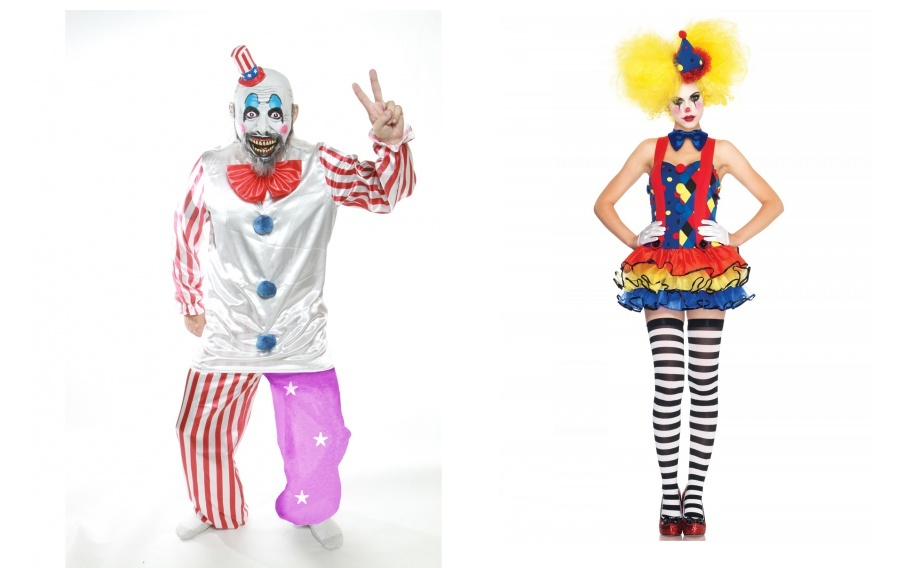 Scary Couple Clown Costumes  sc 1 st  Lekton.info & Scary Couple Clown Costumes - lekton.info