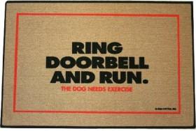Ring Doorbell & Run Doormat