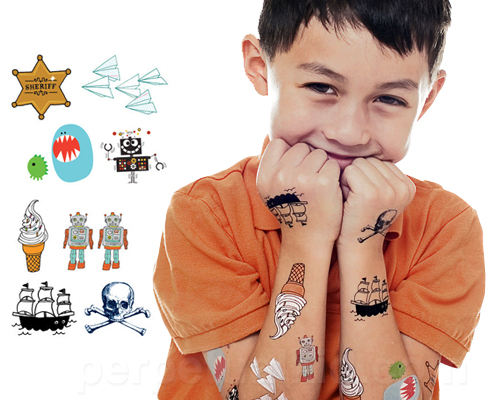 Cheaper than a shrink for Little kid tattoos
