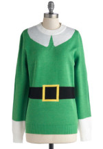 Elf Holiday Sweater
