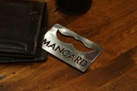 The Mancard Bottle Opener