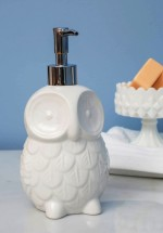 Owl Sink About It Soap Dispenser