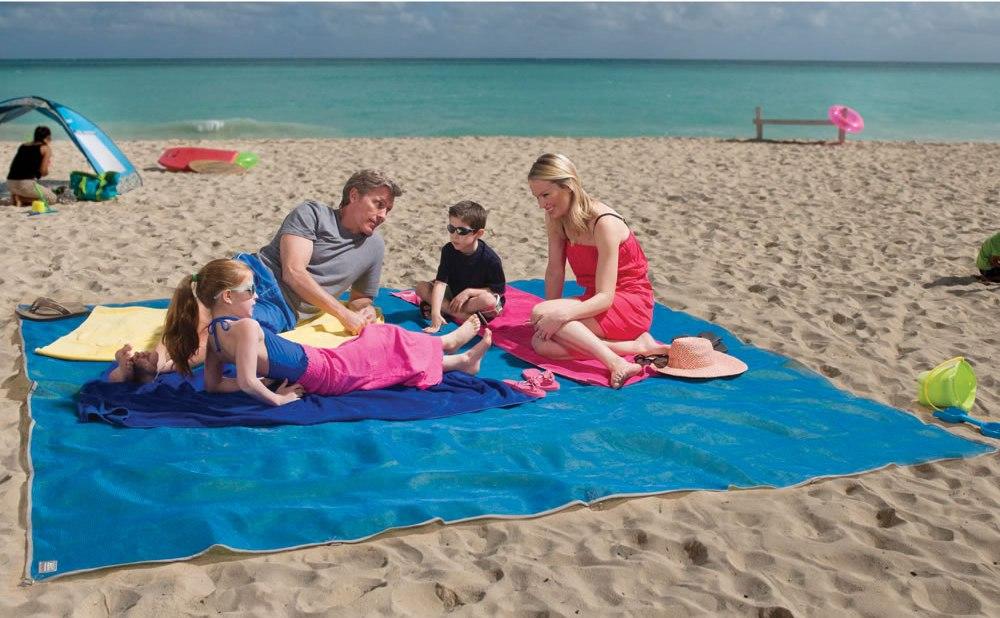The Four Person Beach Mat